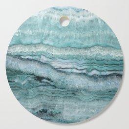 Mystic Stone Aqua Teal Cutting Board