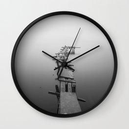 The tilt Wall Clock