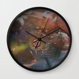 """""""Durga Maya Leela"""" Wall Clock"""