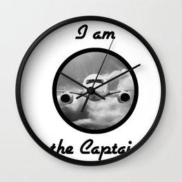 I am the Captain Wall Clock