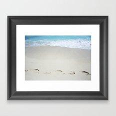Carribean sea 10 Framed Art Print