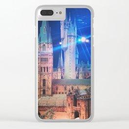 Hogwarts Model 2 Clear iPhone Case