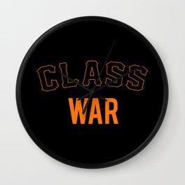 San Francisco Class War Wall Clock