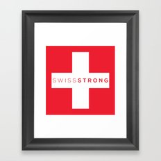 Swiss Strong Framed Art Print