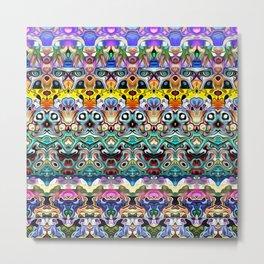 Colorful Shapes Metamorphosis Metal Print