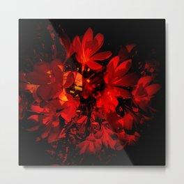 Vampire Flowers Metal Print