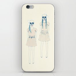 girl-16 iPhone Skin