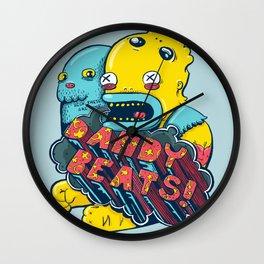 Dandy Beats Wall Clock