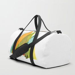 House at the foot of the mountains Duffle Bag