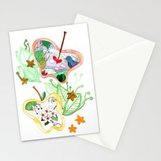 From apple land Stationery Cards