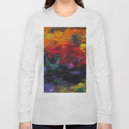 African Sunset Long Sleeve T-shirt