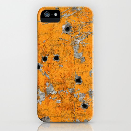 Bullet Riddled Metal by robincurtiss