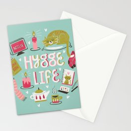 Cozy Hygge Life Stationery Cards