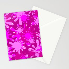 Slime in Hot Pinks Stationery Cards