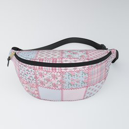Pretty Pastel Patchwork Fanny Pack