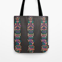 soldier Tote Bags featuring soldier by aylizabbas