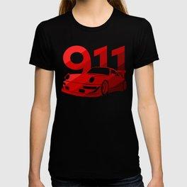 Porsche 911 - classic red - T-shirt