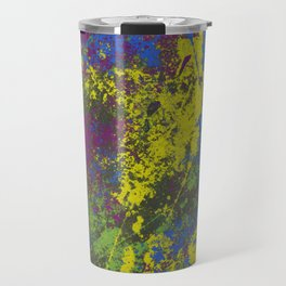 Clouded Judgement - Abstract Modern Painting Travel Mug