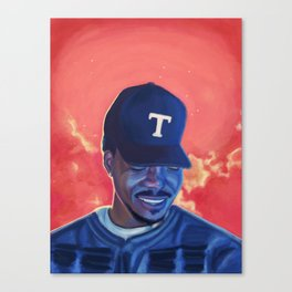 Chance The Rapper: Coloring Book Canvas Print
