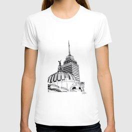 Palacio de Bellas Artes con Torre Latino T-shirt