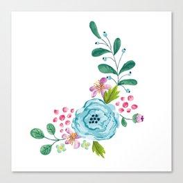 Smiley :) Flowers Canvas Print