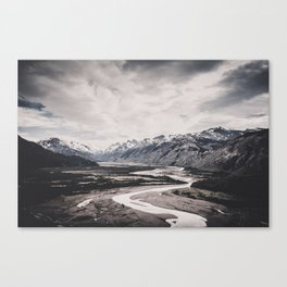 Andes and Patagonia Canvas Print