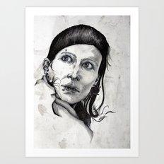 Salander I Art Print