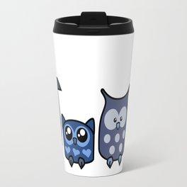 All is Owly (blue) Travel Mug