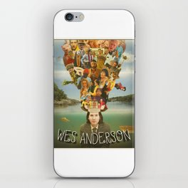 The Mind of Wes Anderson iPhone Skin
