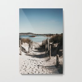 Emu Point Metal Print