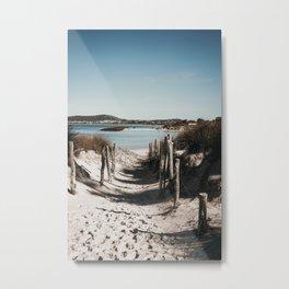 Emu Point Metal Print