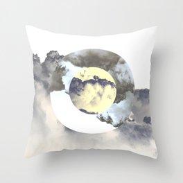 Circle Madness Throw Pillow