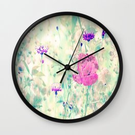 Poppy Lovelight Wall Clock