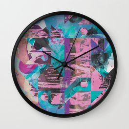 The World I Live In Wall Clock