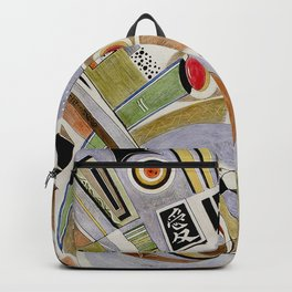 Optimism: Earth and World Peace Backpack