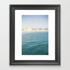 Santa Monica Beach II Framed Art Print