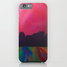Neon Skyline iPhone 6s Slim Case