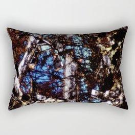 Pyroxene and Feldspar Rectangular Pillow