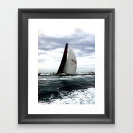 Sydney To Hobart - Wild Oats Framed Art Print