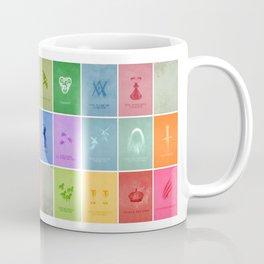 Merlin Minimalist Poster: Season 1 Coffee Mug