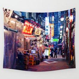 Shinjuku alley Wall Tapestry