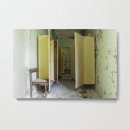 Chernobyl - вбиральня Metal Print