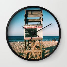 your life guard is nate Wall Clock
