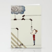 cycle Stationery Cards featuring cycle by bri musser