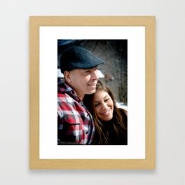 love. Framed Art Print