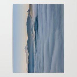 Above the fog, Castelluccio, Italy Poster