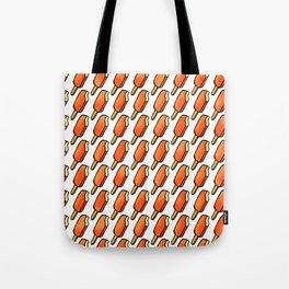Orange Creamsicle Icecream Popsicles Tote Bag
