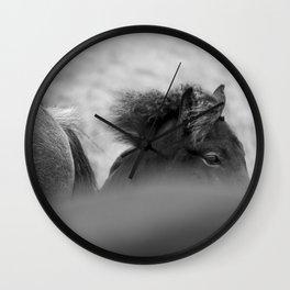 Shy Guy Wall Clock