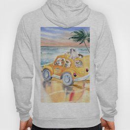 Dogs On Vacation Hoody