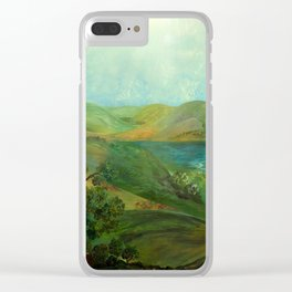 Hill Country Clear iPhone Case